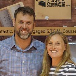 Shawn & Heather Barrieau -  MyFunScience.com Founders